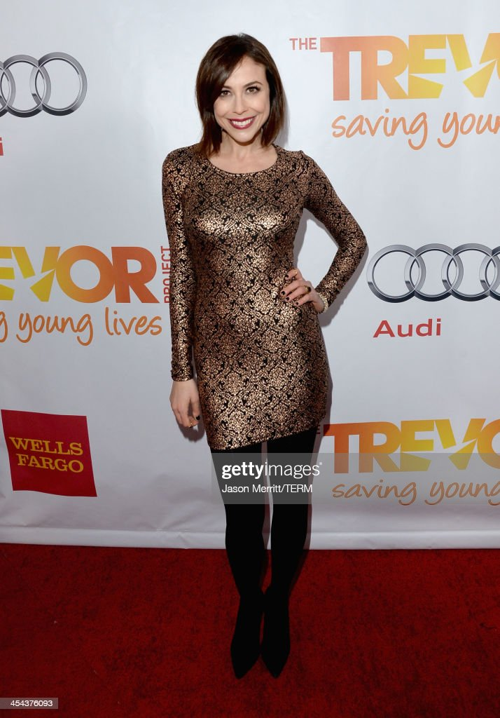 TV personality Shira Lazar attends 'TrevorLIVE LA' honoring Jane Lynch and Toyota for the Trevor Project at Hollywood Palladium on December 8, 2013 in Hollywood, California.