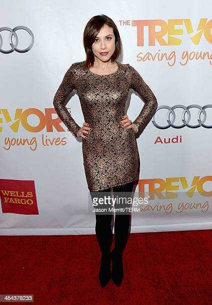 "Personality Shira Lazar attends ""TrevorLIVE LA"" honoring Jane Lynch and Toyota for the Trevor Project at Hollywood Palladium on December 8, 2013 in..."