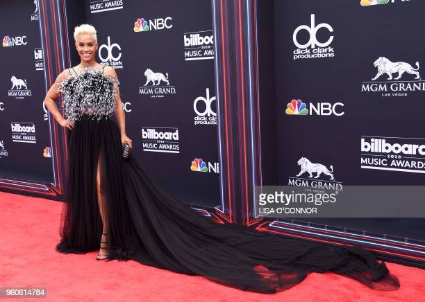 TV personality Sibley Scoles attends the 2018 Billboard Music Awards 2018 at the MGM Grand Resort International on May 20 in Las Vegas Nevada