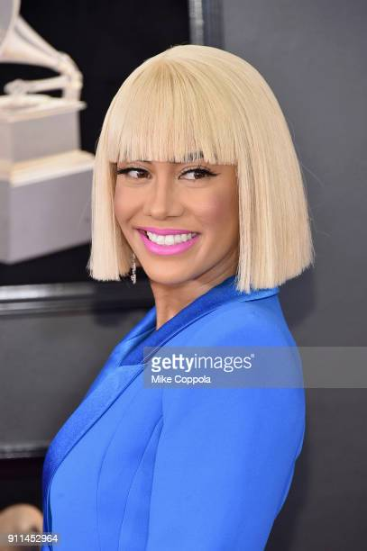 TV personality Sibley Scoles attends the 60th Annual GRAMMY Awards at Madison Square Garden on January 28 2018 in New York City