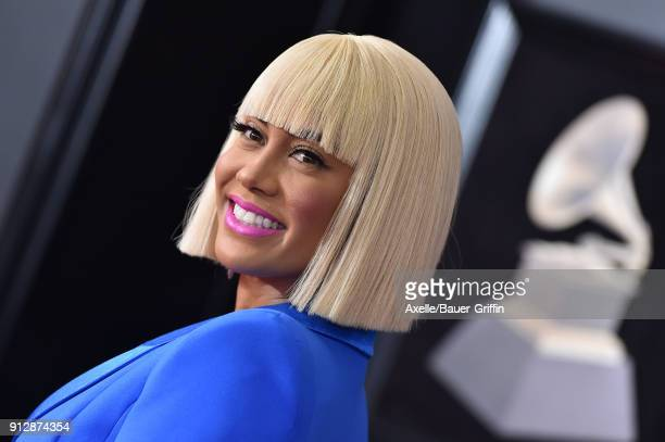 Personality Sibley Scoles attends the 60th Annual GRAMMY Awards at Madison Square Garden on January 28 2018 in New York City