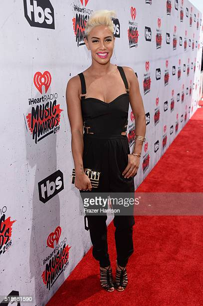 TV personality Sibley Scoles attends the iHeartRadio Music Awards at The Forum on April 3 2016 in Inglewood California