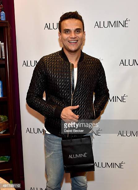 TV personality Silvestre Dangond attends the gift lounge during the 16th Latin GRAMMY Awards at the MGM Grand Garden Arena on November 18 2015 in Las...