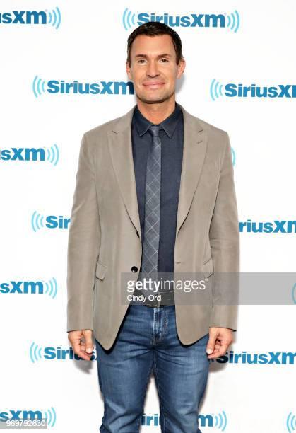 TV personality/ SiriusXM host Jeff Lewis visits the SiriusXM Studios on June 8 2018 in New York City