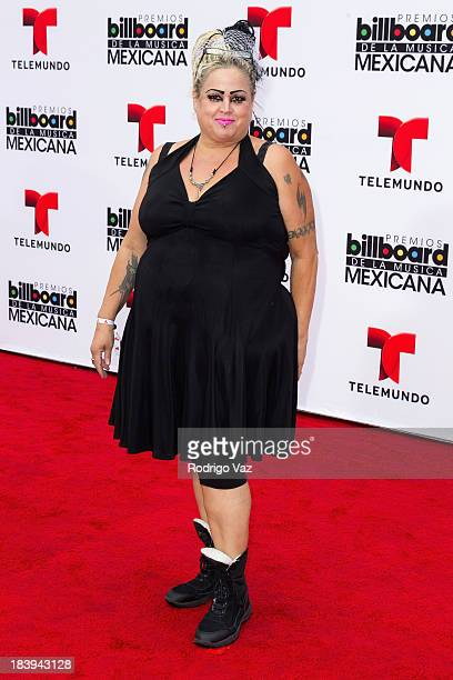 Personality Sonia Pizarro attends the 2013 Billboard Mexican Music Awards arrivals at Dolby Theatre on October 9, 2013 in Hollywood, California.