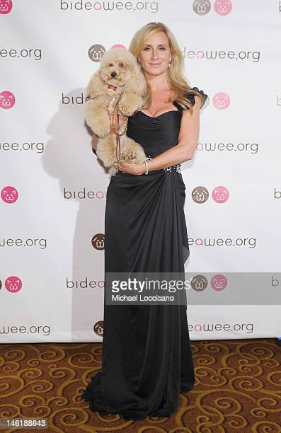 TV personality Sonja Morgan and her dog Milou attend the 2012 Bideawee Gala at Gotham Hall on June 11 2012 in New York City