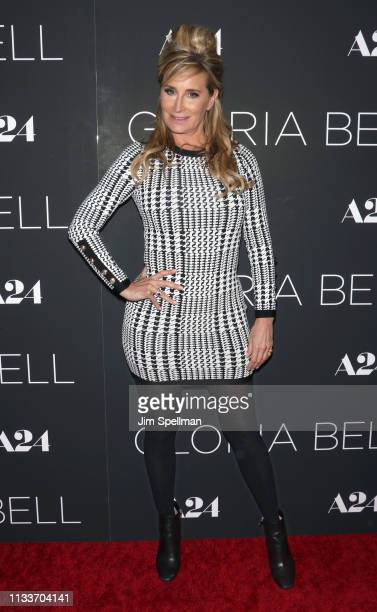 TV personality Sonja Morgan attends the Gloria Bell New York screening at Museum of Modern Art on March 04 2019 in New York City
