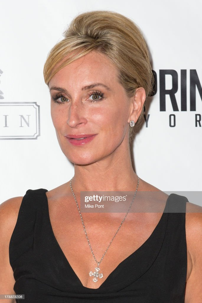 TV personality Sonja Morgan attends the 'Inspired In New York' event on July 11, 2013 in New York, United States.