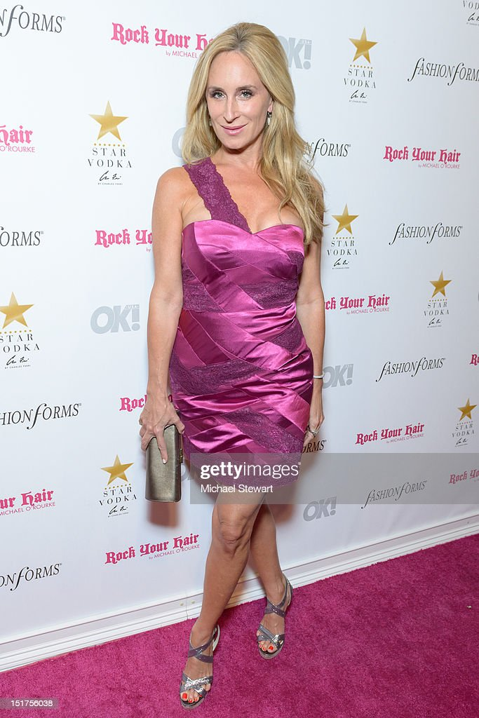 TV personality Sonja Morgan attends the OK! Magazine Fashion Week Party at Cielo on September 10, 2012 in New York City.