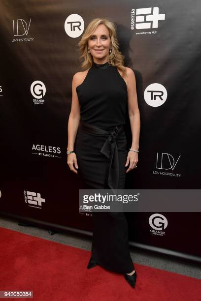 TV personality Sonja Morgan attends The Real Housewives of New York Season 10 Premiere Viewing Party at The Seville on April 4 2018 in New York City