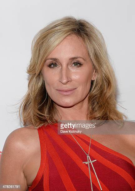 TV personality Sonja Morgan attends the 'The Real Housewives Of New York City' season six premiere party at Tokya on March 12 2014 in New York City