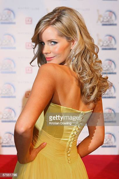 Personality Sophie Falkiner arrives at the 48th Annual TV Week Logie Awards at the Crown Entertainment Complex May 7 2006 in Melbourne Australia