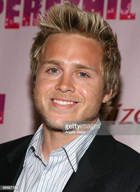 TV personality Spencer Pratt arrives at Perez Hilton's 'OMFB' 31st Birthday Party held at The Viper Room on March 28 2009 in West Hollywood California