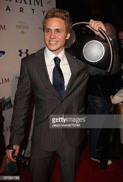 TV personality Spencer Pratt attends the MAXIM magazine kicks off Super Bowl weekend at the Grand Opening of Stone Rose Lounge Scottsdale on February...