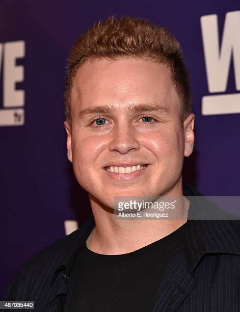 TV personality Spencer Pratt attends the WE tv presents The Evolution of The Relationship Reality Show at The Paley Center for Media on March 19 2015...
