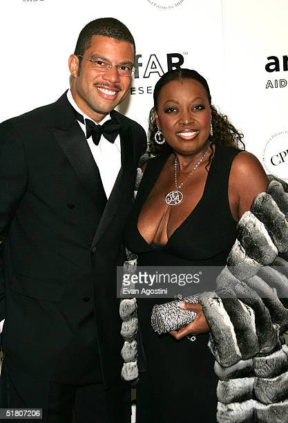 TV personality Star Jones and her husband Al Reynolds attend the AmFAR New York Gala at The Pierre Hotel November 30 2004 in New York City Singer and...