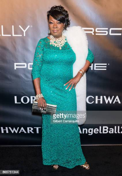 TV personality Star Jones arrives at Gabrielle's Angel Foundation's Angel Ball 2017 at Cipriani Wall Street on October 23 2017 in New York City