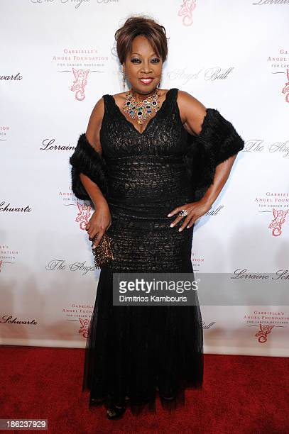 Personality Star Jones attends Gabrielle's Angel Foundation Hosts Angel Ball 2013 at Cipriani Wall Street on October 29 2013 in New York City