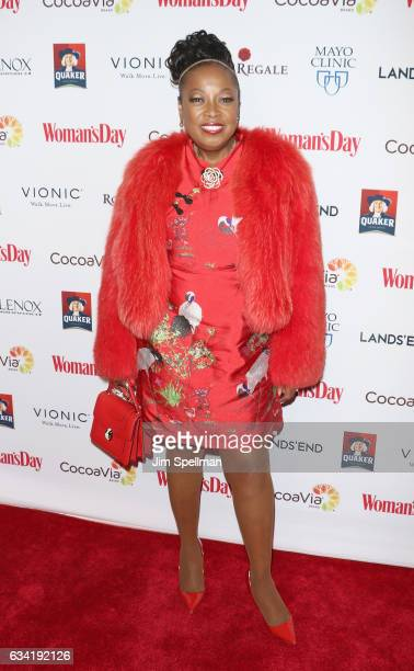 TV personality Star Jones attends the 14th annual Woman's Day Red Dress Awards at Jazz at Lincoln Center on February 7 2017 in New York City