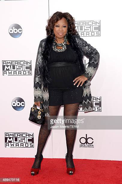 TV personality Star Jones attends the 2014 American Music Awards at Nokia Theatre LA Live on November 23 2014 in Los Angeles California