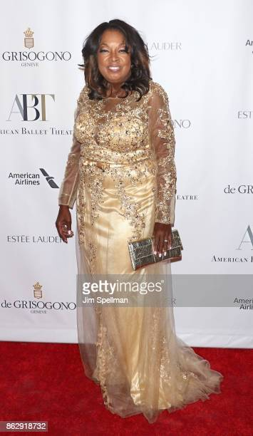 TV personality Star Jones attends the 2017 American Ballet Theatre Fall gala at David H Koch Theater at Lincoln Center on October 18 2017 in New York...