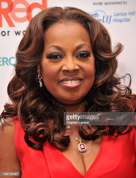TV personality Star Jones attends the American Heart Association's 2012 New York City Go Red for Women luncheon at the Hilton New York on February 28...