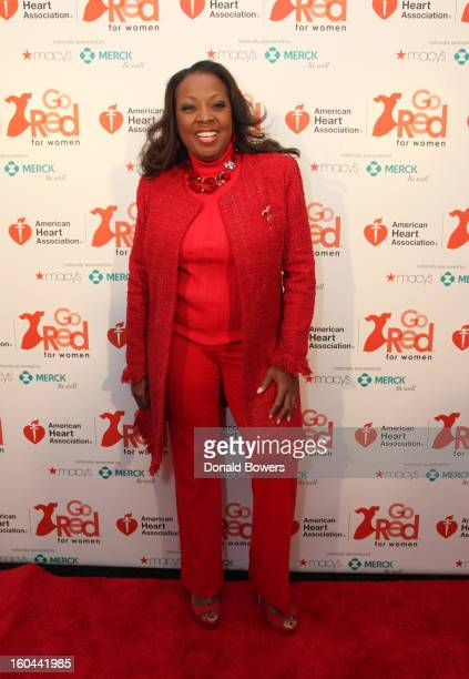 TV personality Star Jones who is Heart Disease Survivor and American Heart Association National Volunteer attends the event to celebrate the 10th...