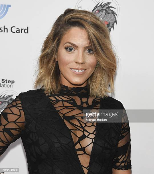 TV personality Stephanie Bauer arrives at the Walking With Anthony Movement for Change Gala at Sofitel Los Angeles At Beverly Hills on June 11 2016...