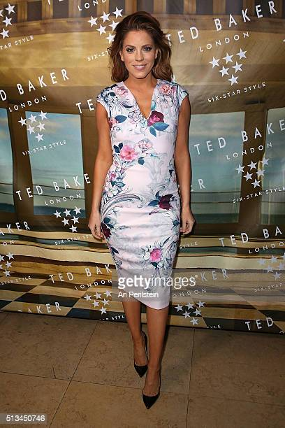 Personality Stephanie Bauer at Sunset Tower Hotel on March 2 2016 in West Hollywood California