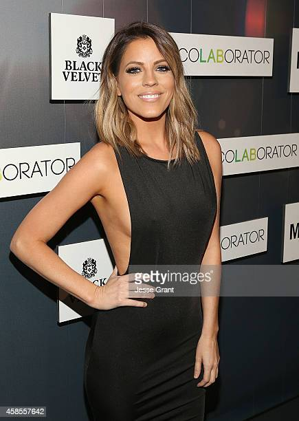 TV personality Stephanie Bauer attends the Colaboratorcom Launch at Milk Studios on November 6 2014 in Hollywood California