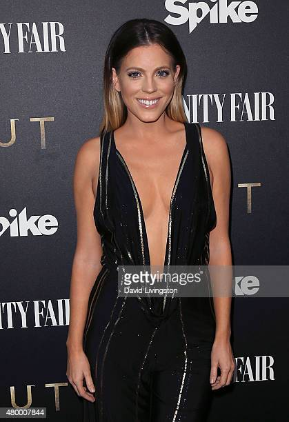 TV personality Stephanie Bauer attends the Vanity Fair and Spike TV celebration of the premiere of the new series TUT at Chateau Marmont on July 8...