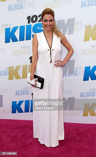 TV personality Stephanie Hollman attends 1027 KIIS FM's 2016 Wango Tango at StubHub Center on May 14 2016 in Carson California