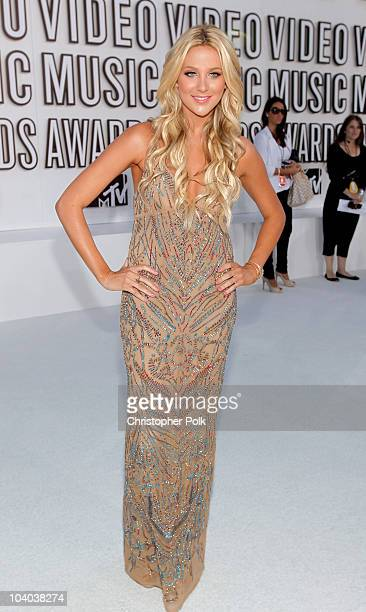 TV personality Stephanie Pratt arrives at the 2010 MTV Video Music Awards at NOKIA Theatre LA LIVE on September 12 2010 in Los Angeles California