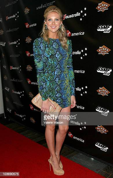 Personality Stephanie Pratt attends Virgin America Official Sunset Strip Music Festival After Party on August 27 2010 in West Hollywood California