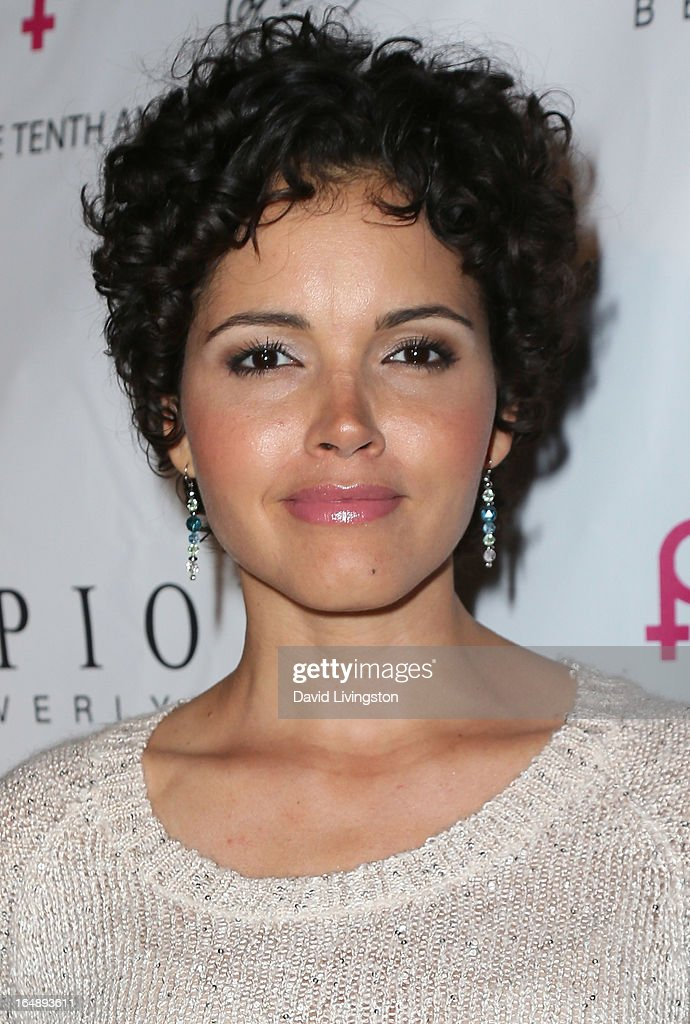 TV personality Susie Castillo attends the 'Pieces (of Ass)' opening night Los Angeles performance at The Fonda Theatre on March 28, 2013 in Los Angeles, California.