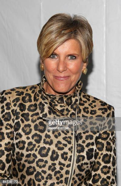 TV personality Suze Orman attends the NBC Universal Experience at Rockefeller Center on May 12 2008 in New York City