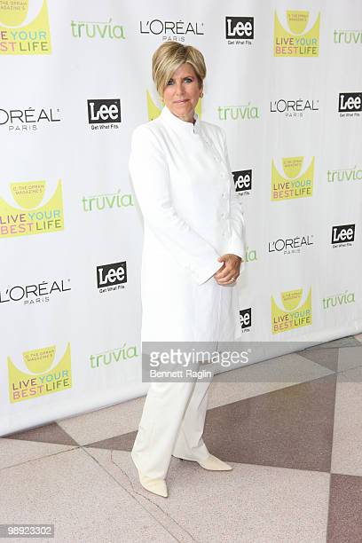 TV personality Suze Orman attends the 'O The Oprah Magazine' 10th anniversary Live Your Best Life event at the Jacob Javitz Center on May 8 2010 in...