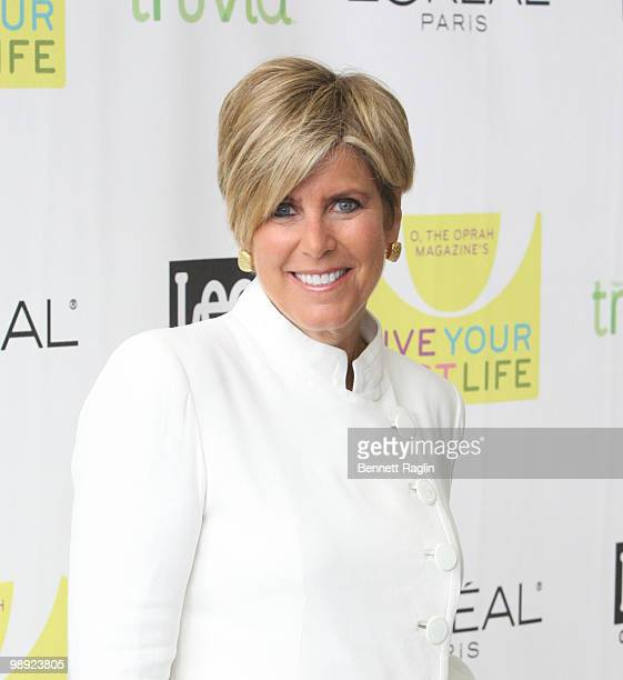 TV personality Suze Orman attends the O The Oprah Magazine 10th anniversary Live Your Best Life event at the Jacob Javitz Center on May 8 2010 in New...