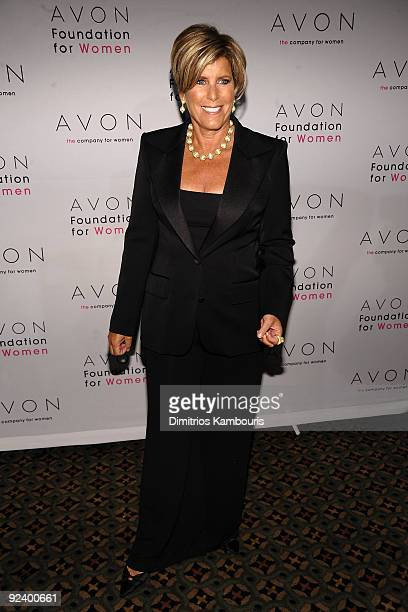 Personality Suze Orman walks the red carpet during the 'Champions Who Change Women's Lives' celebration at Cipriani 42nd Street on October 27 2009 in...