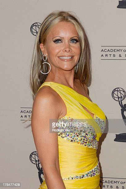 TV personality Tamara Henry arrives at the Academy of Television Arts Sciences 65th Los Angeles Area Emmy Awards at Leonard H Goldenson Theatre on...