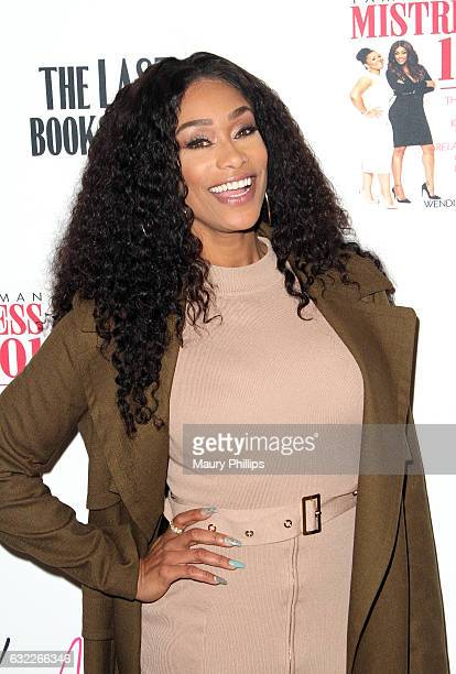 Personality Tami Roman attends her book signing for Mistress 101 at The Last Bookstore on January 20 2017 in Los Angeles California