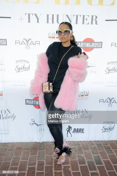 TV personality Tammy Rivera Malphurs attends the 'Claire and Ty Hunter Brunch' at Soho Atlanta on December 2 2017 in Atlanta Georgia