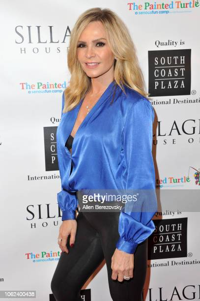 TV personality Tamra Judge attends the House Of Sillage Holiday Boutique Launch event at House of Sillage on November 01 2018 in Costa Mesa California