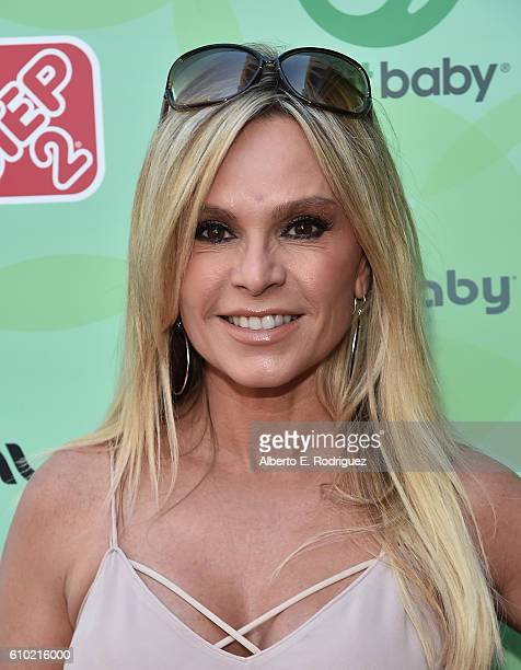 TV personality Tamra Judge attends the Step2 Favoredby Present The 5th Annual Red Carpet Safety Awareness Event at Sony Pictures Studios on September...