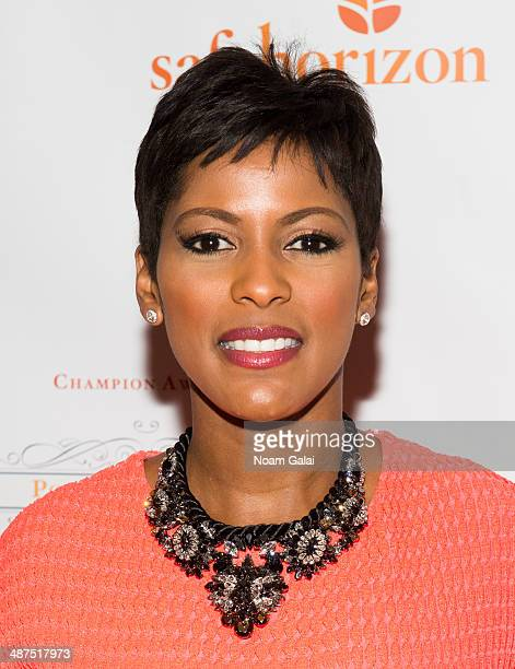 TV personality Tamron Hall attends Safe Horizon's 2014 Champion Awards at Pier Sixty at Chelsea Piers on April 30 2014 in New York City