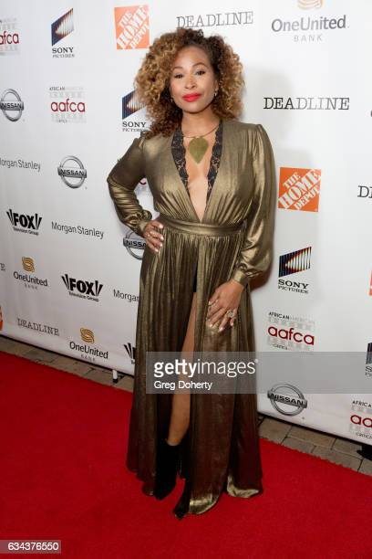 TV personality Tanika Ray attends the 8th Annual AAFCA Awards at the Taglyan Complex on February 8 2017 in Los Angeles California