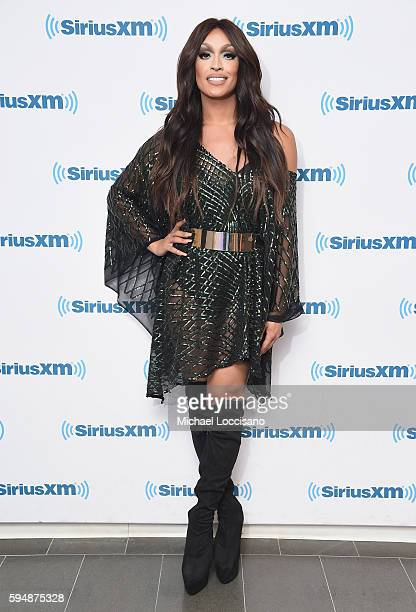 TV personality Tatiana visits SiriusXM Studios on August 24 2016 in New York City