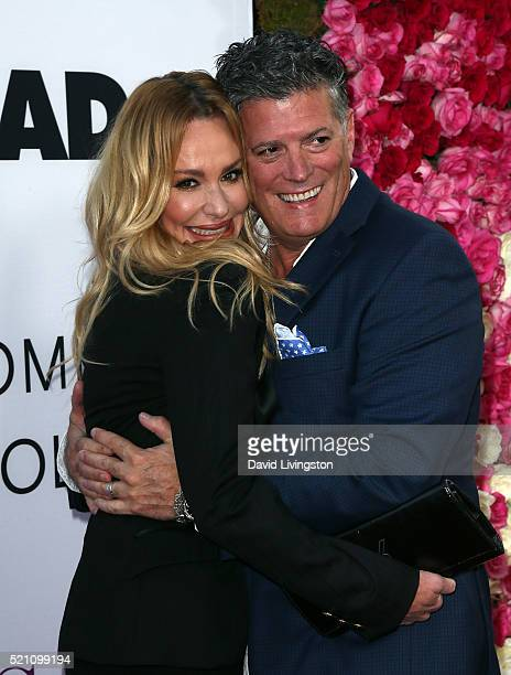 TV personality Taylor Armstrong and husband attorney John H Bluher attend the Open Roads World Premiere of Mother's Day at the TCL Chinese Theatre...