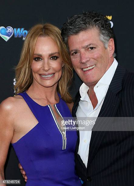 TV personality Taylor Armstrong and husband John Bluher attend the 3rd Annual Reality TV Awards at Avalon on May 13 2015 in Hollywood California
