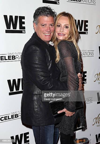 TV personality Taylor Armstrong and husband John H Bluher attend Mario Lopez introducing Casa Mexico Tequila on WE tv's David Tutera CELEBrations at...